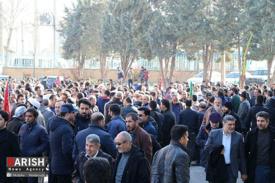 تجمع حماسه 9 دی در ارومیه برگزار شد