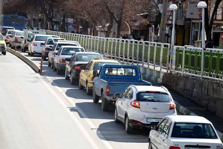 نبود عزمی جدی برای حل مشکل ترافیک شهری در ارومیه