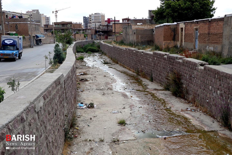 وضعیت جوی آب منطقه دیزج سیاوش ارومیه