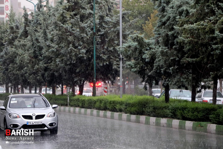 بارش شدید باران در ارومیه