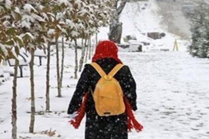 برف، مدارس برخی از شهرهای آذربایجانغربی را تعطیل کرد