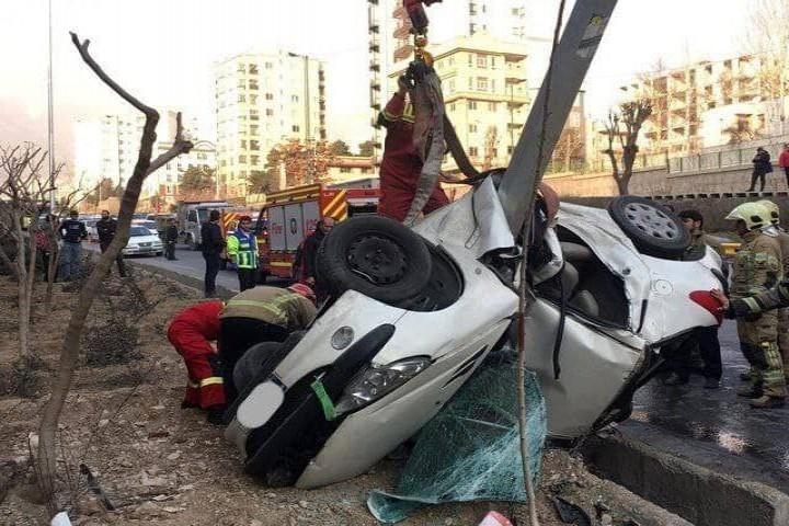 ویراژ مرگ در خیابانهای ارومیه!