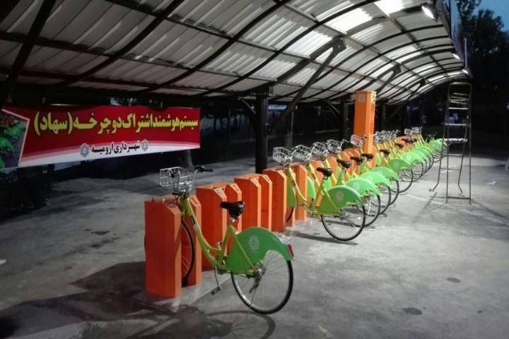 طرح شکست خورده دوچرخههای هوشمند در ارومیه