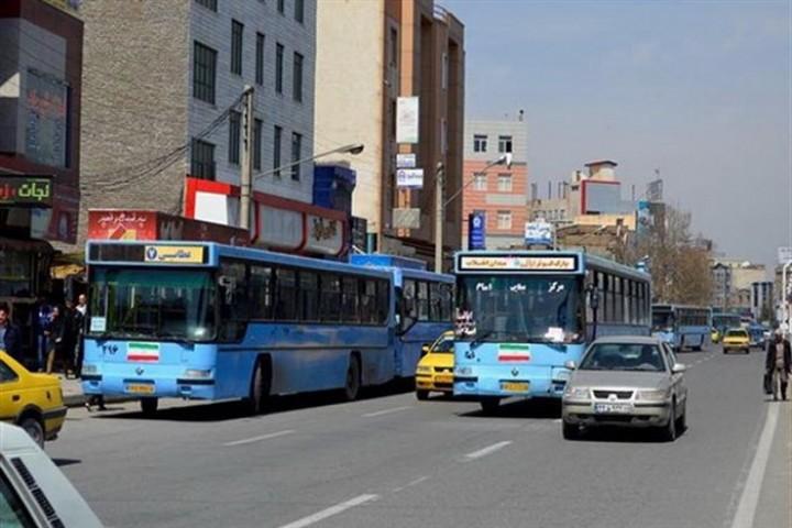 فعالیت ناوگان اتوبوس شهری ارومیه متوقف شد