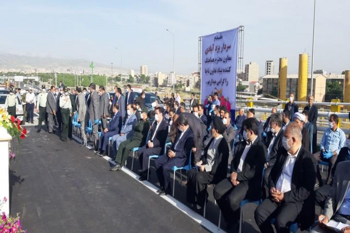 فاز دوم تقاطع غیرهمسطح آذربایجان به خوان افتتاح رسید