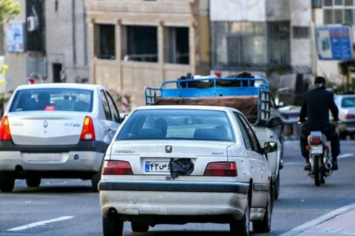 مخدوشکردن پلاک روشی برای دور زدن قانون!