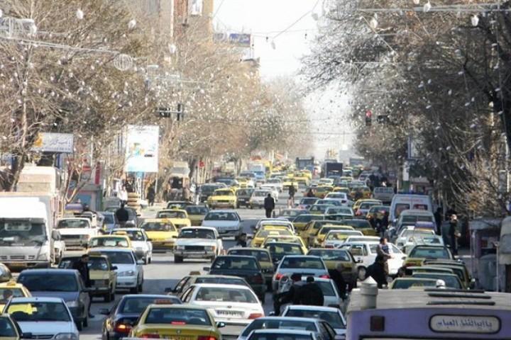 ترافیک شهری معضلی پایدار برای کلانشهر ارومیه