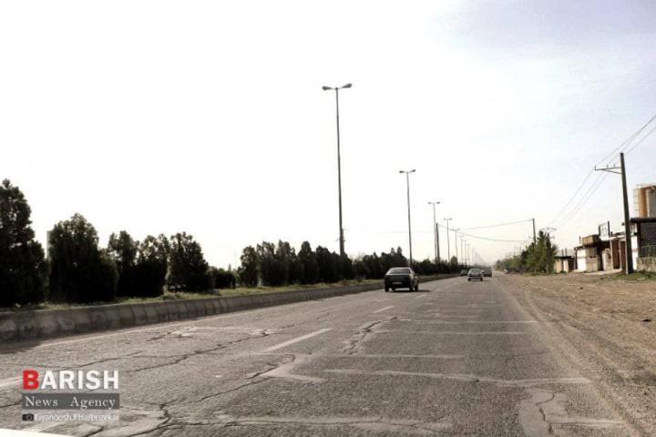 ضرورت رسیدگی به زیر ساختهای فنی جاده بین المللی سرو