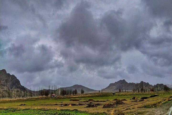 موج سرما و بارش باران در آذربایجانغربی