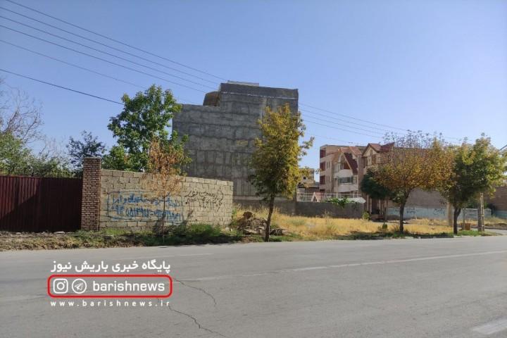 خشک شدن درختان در خیابان های ارومیه ، زیر سایه بی مهری مسئولان
