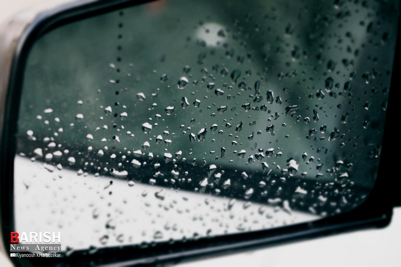 قطرات زیبای باران بهاری