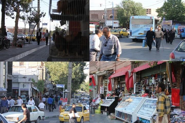 خیابانهای مرکز شهر؛ کلکسیونی از معضلات مدیریت شهری