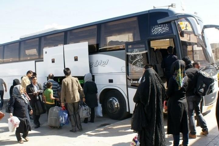 رعایت پروتکلهای بهداشتی اصل فراموش شده رانندگان اتوبوسهای بین شهری