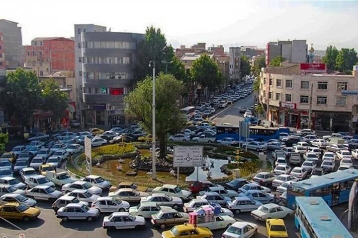 ترافیک ، گریبان گیر بلوار های اصلی کلانشهر ارومیه