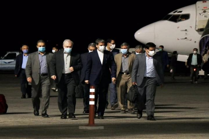 وزیر بهداشت شب گذشته وارد ارومیه شد