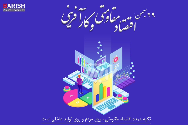 پوستر روز اقتصاد و کارآفرینی