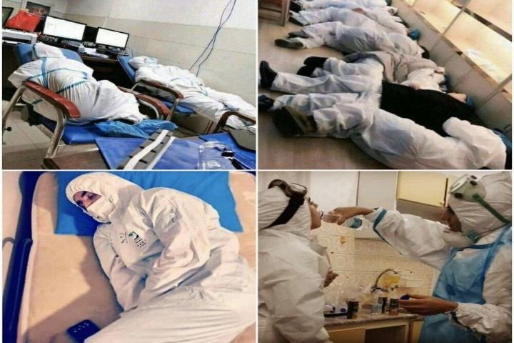 مردم به داد پزشکان و کادر درمان استان برسند