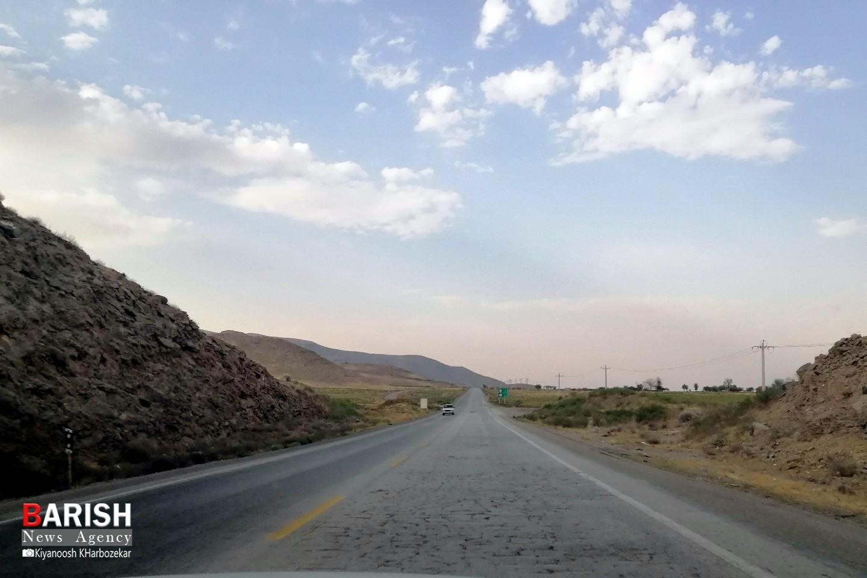 وضعیت اسفناک جاده ارومیه به تبریز