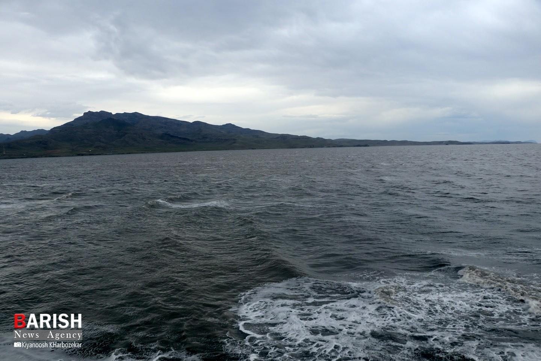 حال خوب دریاچه ارومیه بعد از 10 سال