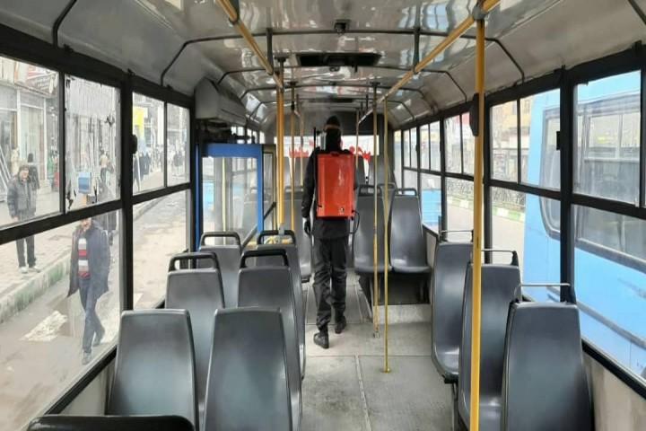 ناوگان حملونقل عمومی ارومیه ضدعفونی میشود