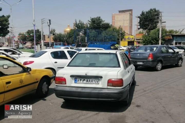 کلاف پیچیده ترافیک در ارومیه تمامی ندارد