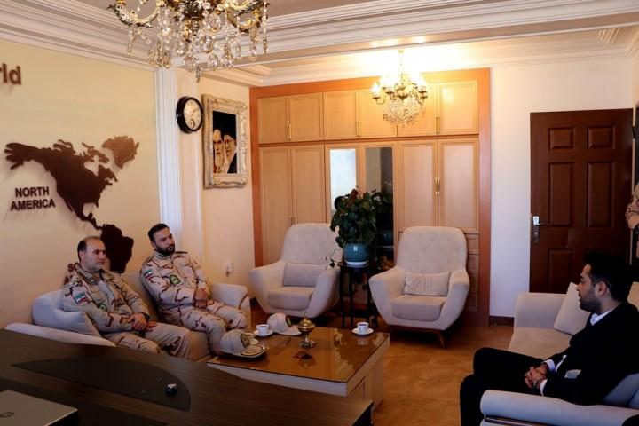 تجلیل مرزبانی آذربایجانغربی از پایگاه خبری باریش