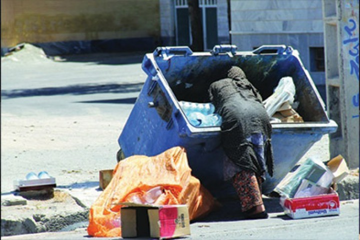 روزیهایی که در سطلهای زباله یافت میشوند