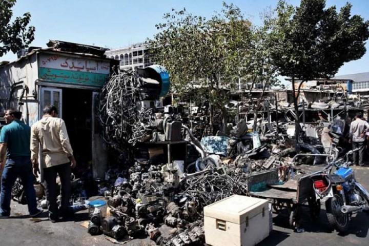 ضرورت پاکسازی سیمای شهر ارومیه از ضایعات فروشان