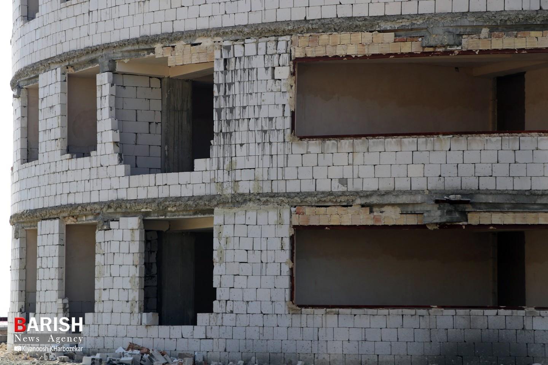 وضعیت نابسامان مسکنهای مهر ولیعصر و هنرمندان ارومیه