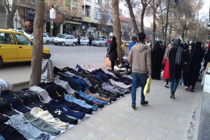 دخل و تصرف اصناف در معابر شهری تضییع حقوق شهروندان است