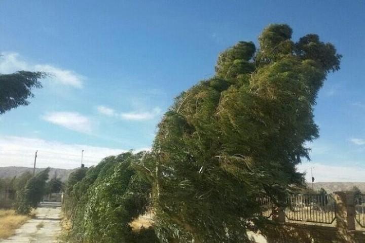 وزش باد گاها شدید در برخی از مناطق آذربایجانغربی