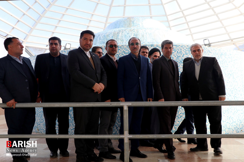 افتتاح تصفیه خانه سلماس