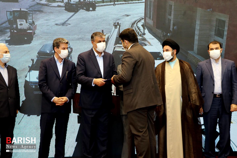 مراسم افتتاح سالن مسافر پایانه مرزی سرو