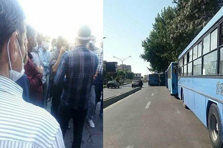 مشکلات رانندگان اتوبوس درون شهری ارومیه  در دست بررسی و پیگیری است