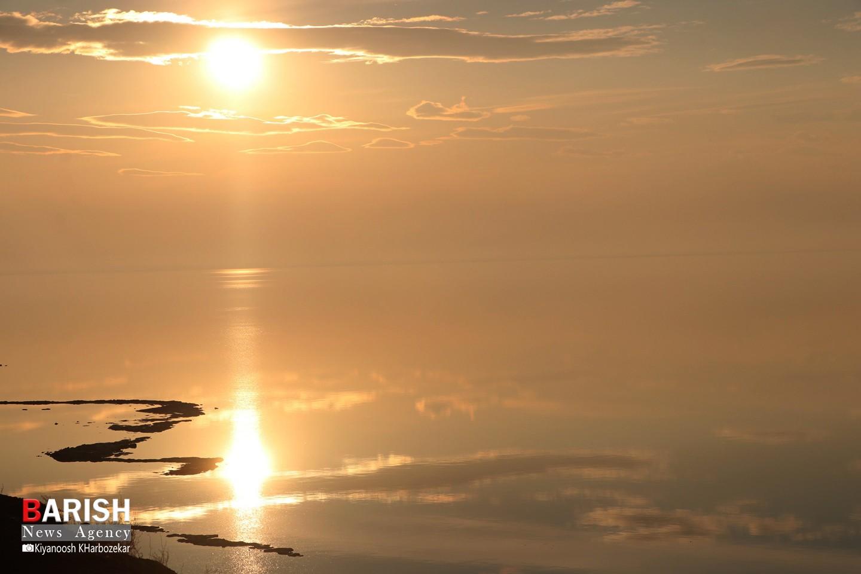 حال خوب دریاچه ارومیه
