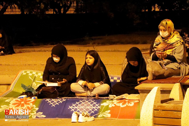 مراسم آخرین شب لیالی القدر در مصلای امام خمینی (ره) ارومیه