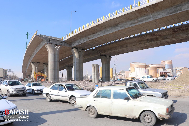 ارومیه چشم انتظار افتتاح نهایی تقاطع غیرهمسطح آذربایجان