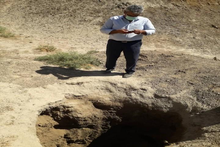 حفاری های غیر مجاز در بالو مربوط به سال های گذشته میباشد