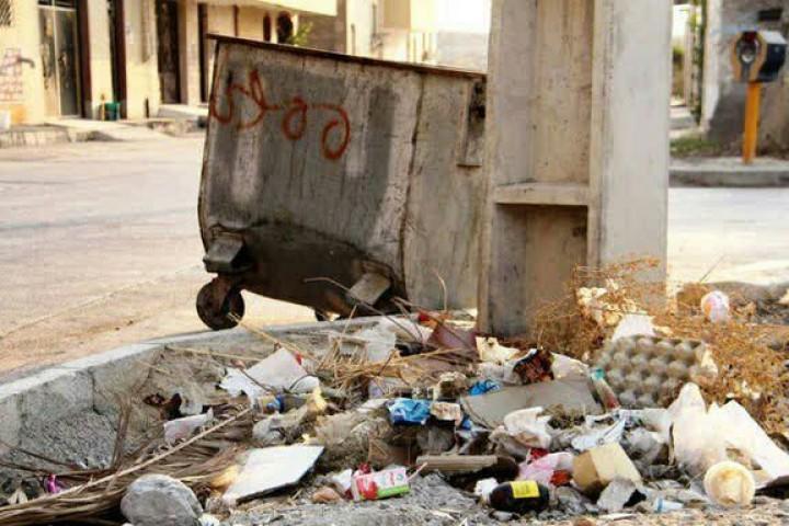 زباله هایی که بلای جان چهره شهر شده اند