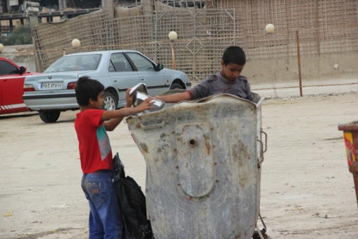 افزایش زباله گردی زیر سایه فقر