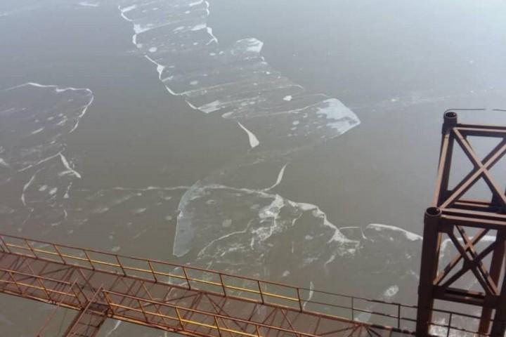 یخزدگی دریاچه ارومیه پدیدهای طبیعی است