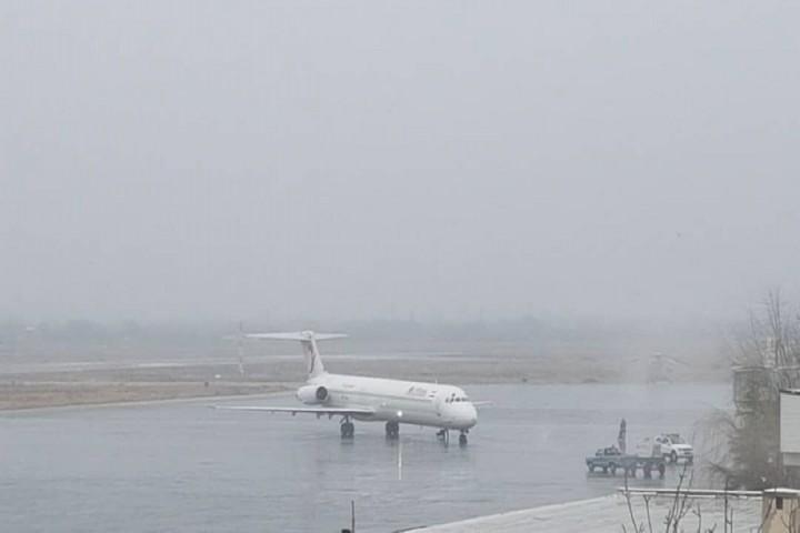 مشکلی در مسیرباند هواپیماو فرودگاه ارومیه وجود ندارد