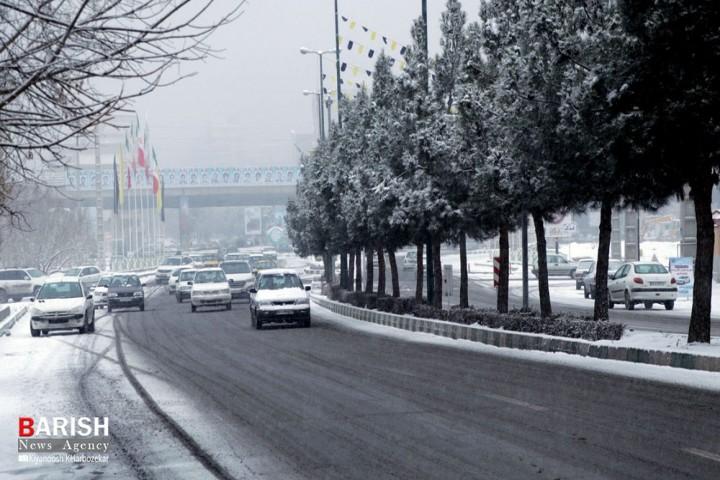 حال و هوای برفی ارومیه