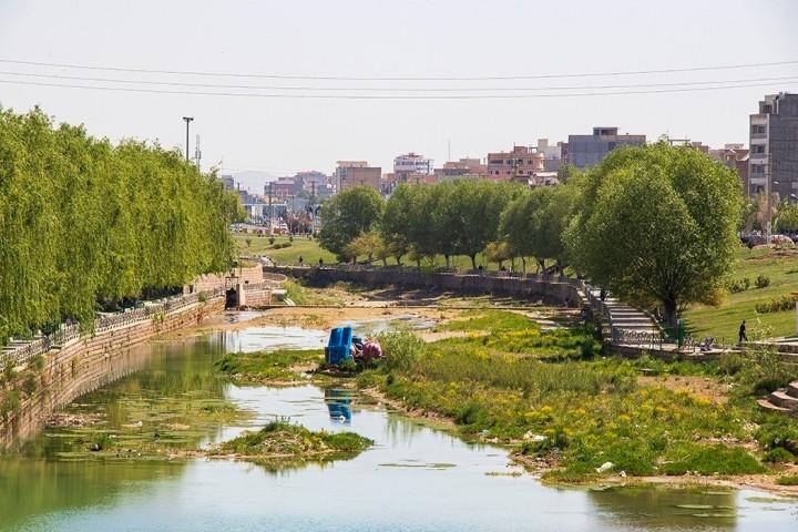 رودخانه شهرچای میزبان پسماندهای شهری