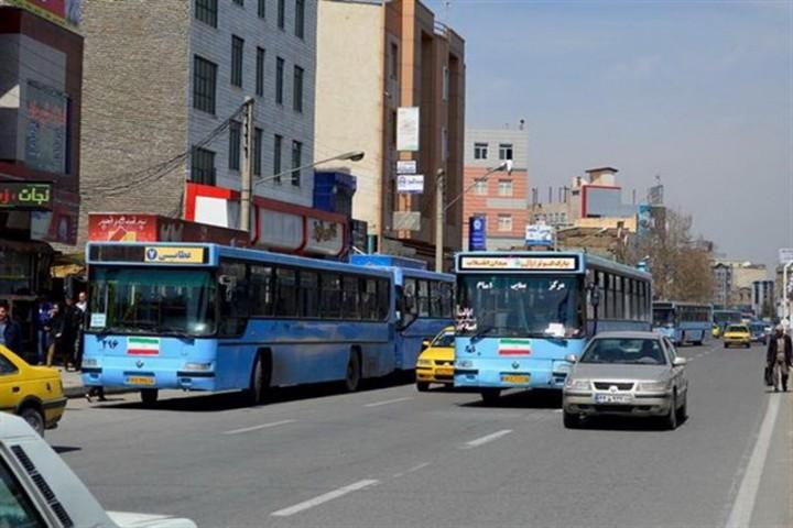 کاهش رغبت مردم برای استفاده از اتوبوسهای شهری