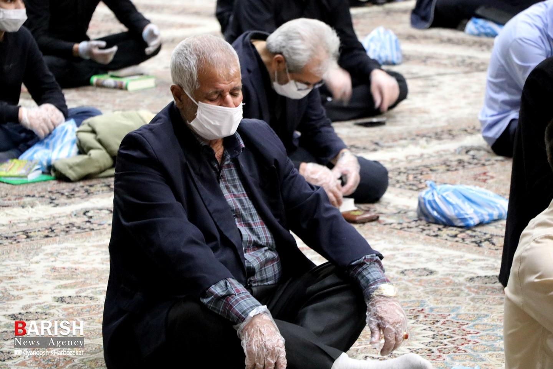 مراسم اولین شب قدر در ارومیه با رعایت پروتکل های بهداشتی