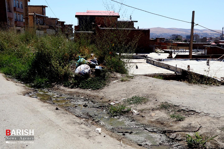 وضعیت نابسامان منطقه طرزیلوی ارومیه