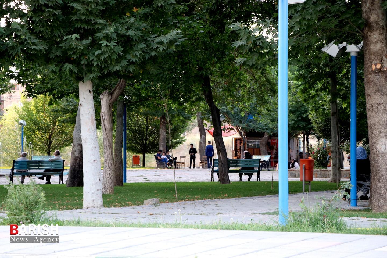 محدودیتهای که در پارکهای شهر رعایت نمیشود