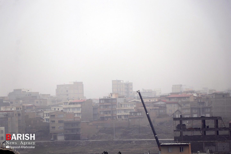 هوای مه آلود ارومیه