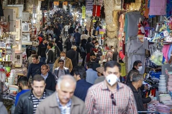 اخطار! خطر کرونا در هیاهوی بازار شب عید
